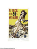 Movie Posters:Science Fiction, Attack of the 50ft Woman (Allied Artists, 1958)...