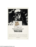 Movie Posters:Science Fiction, THX 1138 (Warner Brothers, 1971)...