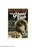 Movie Posters:Horror, The Ghost Ship (RKO, 1943)...