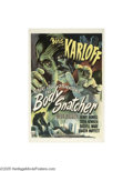 Movie Posters:Horror, The Body Snatcher (RKO, 1945)...