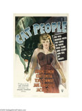Movie Posters:Horror, Cat People (RKO, 1942)...