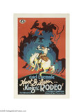 Movie Posters:Western, King of the Rodeo (Universal, 1929)...