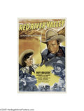 Movie Posters:Western, Red River Valley (Republic, 1941)...