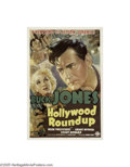 Movie Posters:Western, Hollywood Round-up (Columbia, 1937)...