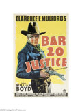 Movie Posters:Western, Bar 20 Justice (Paramount, 1938)...