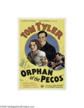 Movie Posters:Western, Orphan of the Pecos (Victory Pictures Corporation, 1937)...