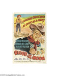 Movie Posters:Western, Blood on the Moon (RKO, 1948)...