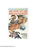Movie Posters:Western, The Naked Spur (MGM, 1953)...