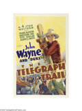 Movie Posters:Western, The Telegraph Trail (Warner Brothers-Vitagraph, 1933)...