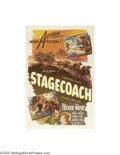 Movie Posters:Western, Stagecoach (United Artists, R-1944)...