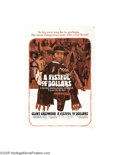 Movie Posters:Western, Fistful of Dollars (United Artists, 1964)....