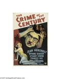Movie Posters:Mystery, The Crime of the Century (Paramount, 1933)...