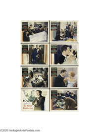 The Kennel Murder Case (Warner Brothers, 1933).... (8 items)