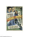 Movie Posters:Mystery, Pearl of Death (Universal, 1944)...