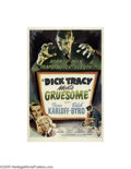Movie Posters:Crime, Dick Tracy Meets Gruesome (RKO, 1947)...