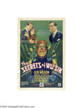 Movie Posters:Mystery, Secrets of Wu Sin (Chesterfield, 1932)...