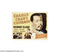 Movie Posters:Mystery, Charlie Chan's Courage (Fox, 1934).... (4 items)