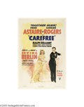Movie Posters:Musical, Carefree (RKO, 1938)...