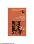 Movie Posters:Musical, West Side Story (United Artists, 1961)...