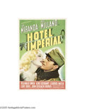 Movie Posters:Drama, Hotel Imperial (Paramount, 1939)...
