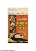 Movie Posters:Comedy, The Flame of New Orleans (Universal, 1941)...