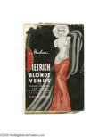Movie Posters:Drama, Blonde Venus (Paramount, 1932)...