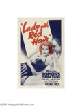 Movie Posters:Documentary, Lady with Red Hair (Warner Brothers, 1940)...