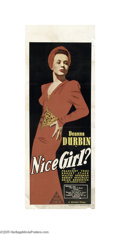 Movie Posters:Comedy, Nice Girl? (Universal, 1941)...
