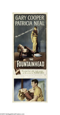 Movie Posters:Drama, The Fountainhead (Warner Brothers, 1949)...