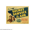 Movie Posters:Adventure, Secret Service of the Air (Warner Brothers, 1938)...