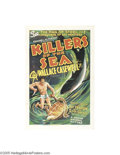 Movie Posters:Documentary, Killers of the Sea (Grand National, 1937)...