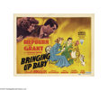 Movie Posters:Comedy, Bringing Up Baby (RKO, 1938)...