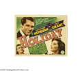 Movie Posters:Comedy, Holiday (Columbia, 1938)....