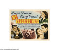 Movie Posters:Comedy, My Favorite Wife (RKO, 1940)... (2 items)