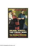 Movie Posters:Serial, Fatal Ring (Pathe', 1917)...