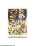 Movie Posters:Fantasy, Superman and the Jungle Devil (20th Century Fox, 1954)...
