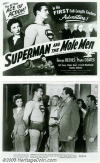 Superman and the Mole Men (Lippert, 1951)... (10 items)
