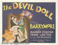 Movie Posters:Horror, The Devil-Doll (MGM, 1936)... (3 items)