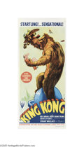 Movie Posters:Horror, King Kong (RKO, R-1949)...