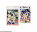 Movie Posters:Comedy, Abbott and Costello Belgian Group Lot (Universal, 1950s)... (2items)