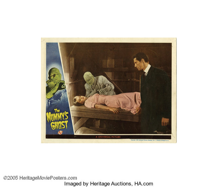 The Mummy/'s Ghost Lon Chaney Horror movie poster print