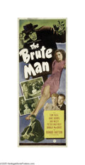 Movie Posters:Horror, The Brute Man (Universal, 1946)...