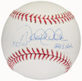 "Autographs:Baseballs, Derek Jeter ""5-23-07 2215 Hit"" Single Signed Baseball...."