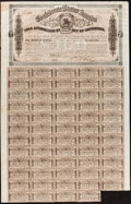 Confederate Notes:Group Lots, Ball 296 Cr. 142 $100 1863 Fine-Very Fine. . ...