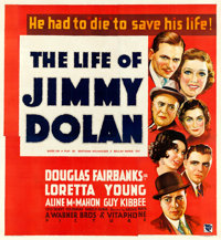 """The Life of Jimmy Dolan (Warner Brothers, 1933). Fine+ on Linen. Six Sheet (75.5"""" X 82"""")"""