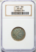 Proof Barber Quarters: , 1902 25C PR65 NGC. NGC Census: (29/55). PCGS Population: (30/34). PR65. Mintage 777. . From The Speechless Collection. ...