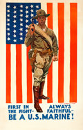 Movie Posters:War, World War I Propaganda by James Montgomery Flagg (c. 1918)...