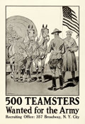 Movie Posters:War, Army Recruitment (U. S. Army, Early 1910s). Very Fine+ on ...