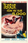 Movie Posters:Science Fiction, Terror from the Year 5000 (American International, 1958). ...