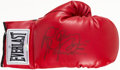 """Boxing Collectibles:Autographs, Ray """"Boom Boom"""" Mancini Signed Boxing Glove. ..."""